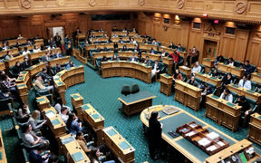 Youth MPs debate during Youth Parliament 2019.