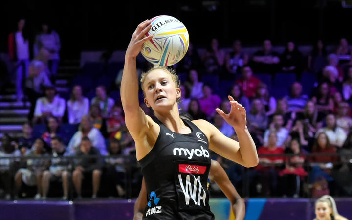 Vitality Netball World Cup - New Zealand v Barbados - Shannon Saunders.