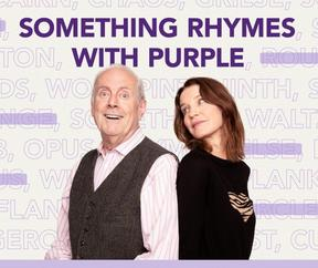 Something Rhymes With Purple logo (Supplied)