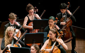 Cellos of National Youth Orchestra