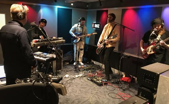 Leisure - in for NZ Live at RNZ