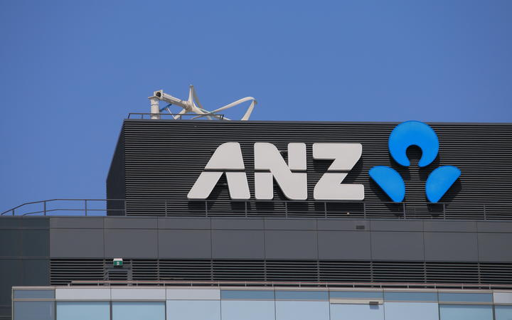 26315243 - melbourne australia - march 1,2014  logo of australia and new zealand bank  anz  - one of the four largest bank in australia