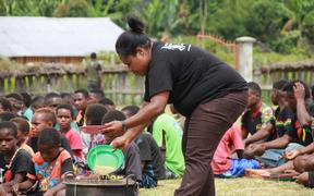 The Humanity Volunteer Team of Nduga has been helping communities displaced by armed conflict in Papua's Nduga regency with food, health and education needs in Wamena.