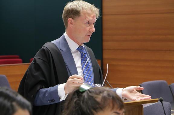 EPA lawyer Andrew Butler.