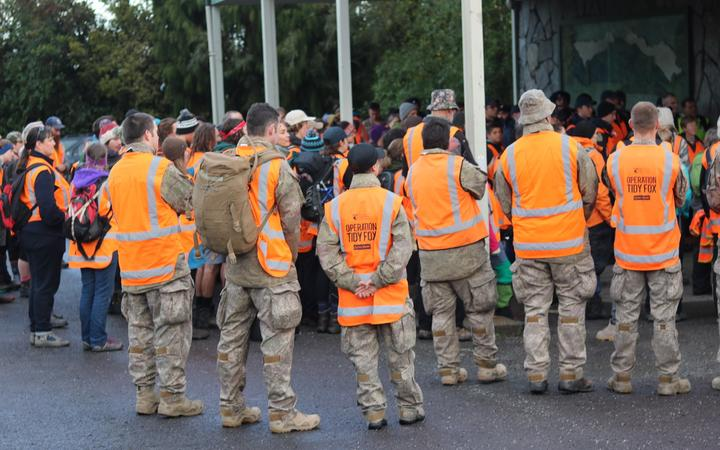 Defence Force personnel have been sent over to the West Coast to aid in the rubbish spill of a disused Fox River landfill.