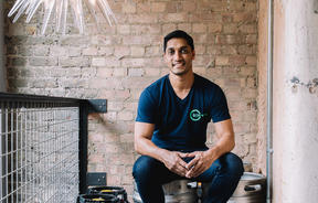Randy Rampersad is the founder of the Green Vic in Shoreditch, London.