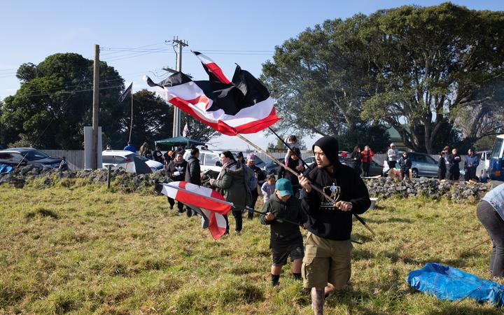 People continue to occupy Ihumatao after protestors were served an eviction notice which led to a stand-off with police.