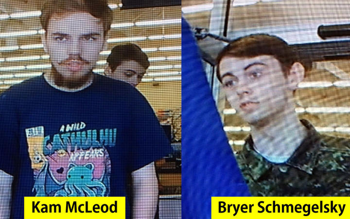 RCMP search small Northern Manitoba community for B.C. murder suspects