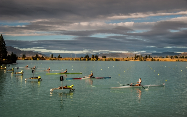 The National Rowing Championships at Lake Ruataniwha in Twizel on 21 February 2013.