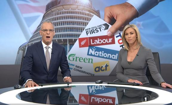 TVNZ's Simon Dallow and Wendy Petrie give the nation the latest political poll results.