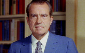 Richard Nixon was the 37th U.S. president and the only commander-in-chief to resign from his position, after the 1970s Watergate scandal