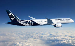 Air New Zealand plane.