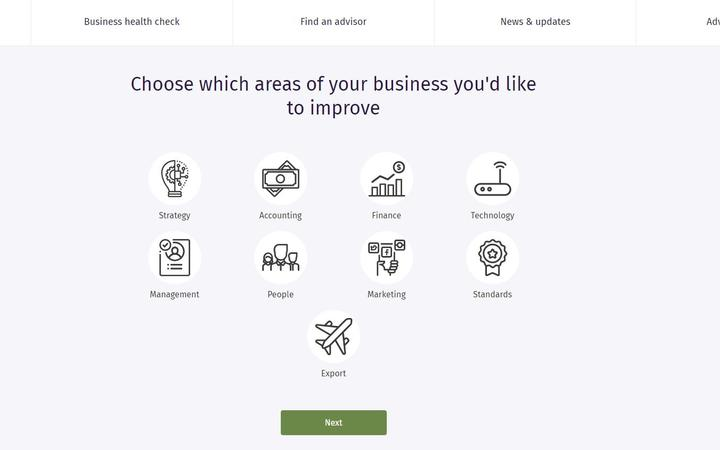 The Business Health Check en el portal de BLP