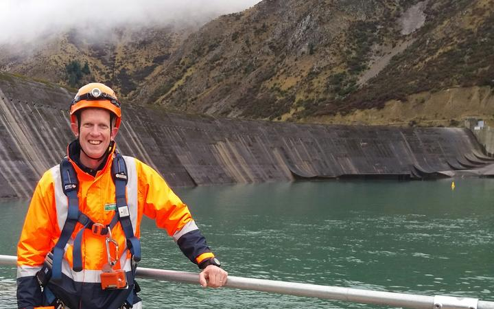 Vice chair of the New Zealand Society on Large Dams, Dan Forster.