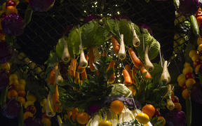 Fruit and Vege chandelier
