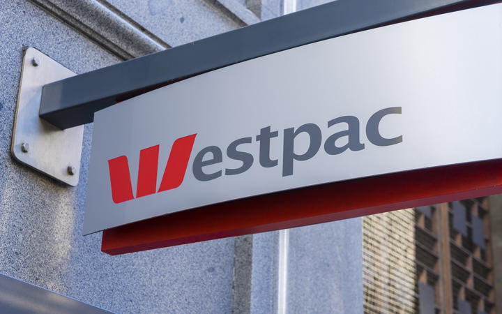 Sydney, Australia - June 26, 2016: Close-up of Westpac signage. Westpac is one of the four largest banks in Australia.