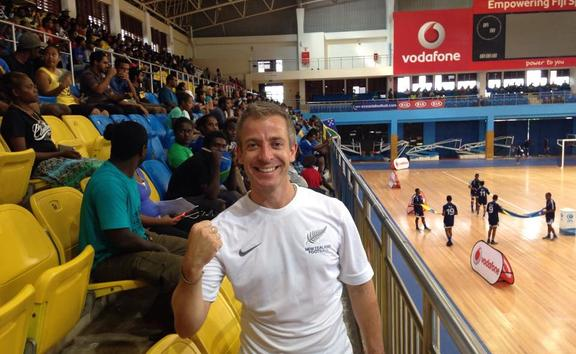 Dave Payne played a huge role in developing futsal.