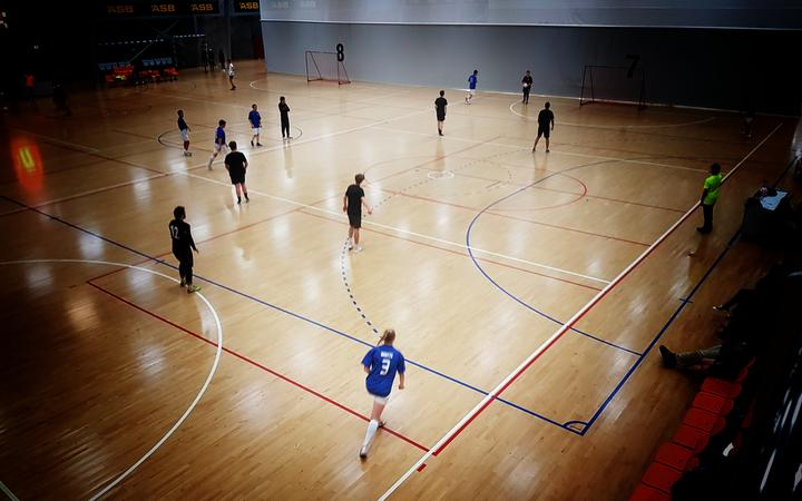 Futsal is one of the most popular sports at Wellington's ASB centre.