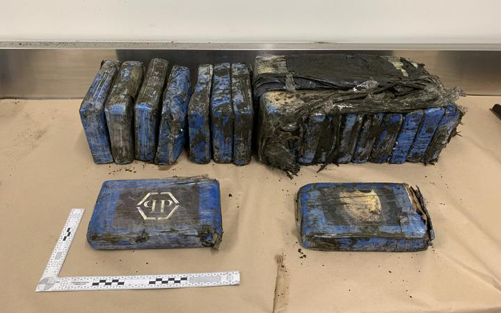 Massive amount of cocaine washes up on an Auckland beach