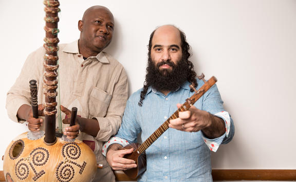 Ableye Cissoko & Kiya Tabassian from the ensemble Constantinople