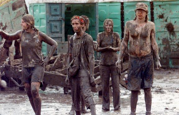 The Mud at Woodstock 99