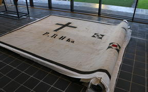 The 160-year-old Kīngitanga flag has been returned by the Anglican Church.
