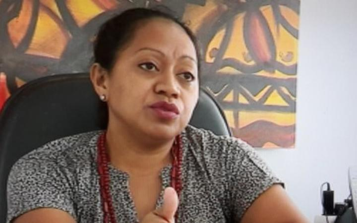 Lauriane Verge is the president of the Wallis & Futuna Chamber of Commerce.