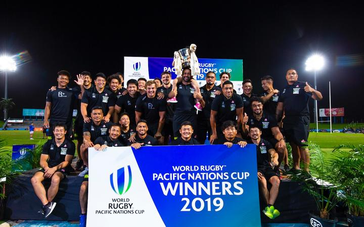 Japan win the 2019 Pacific Nations Cup