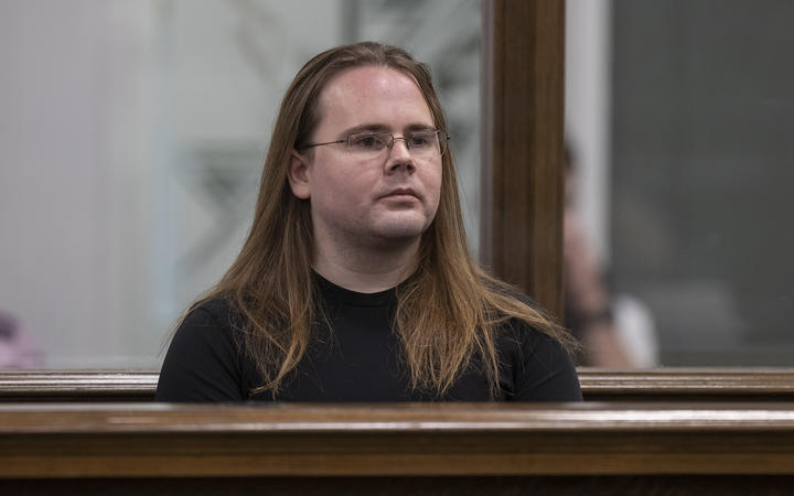 Joseph William Borton in the High Court at Wellington where he pleaded guilty to  murder, 12 August 2019.