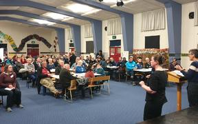 South Dunedin residents met with scientists, engineers and policy makers to discuss water issues hitting their low-lying suburb.
