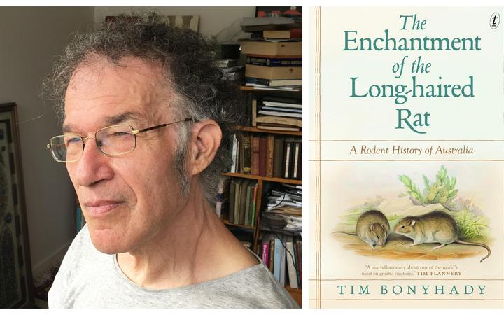 Professor Tim Bonyhady and the cover of his new book.