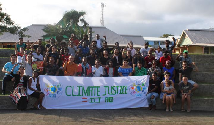 Pacific Island Students Fighting Climate Change