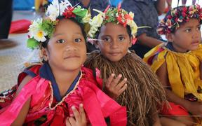 Children in Tuvalu