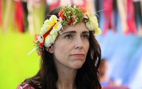 New Zealand prime minister Jacinda Ardern in Tuvalu for the Pacific Islands Forum leaders summit. August 2019
