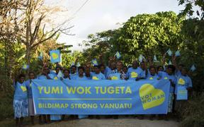 The Vanuatu Civil Society Influencing Network.