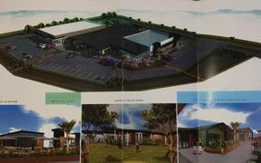 Plans for the proposed shopping centre in Napier.