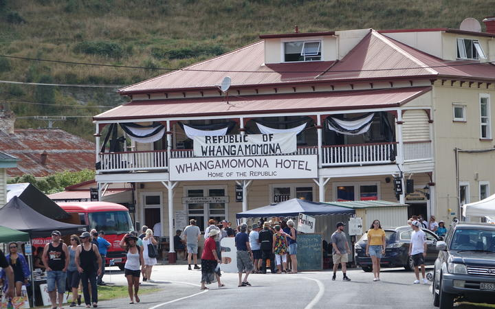 The Whangamomona Hotel is up for sale, but comes with big boots to fill.