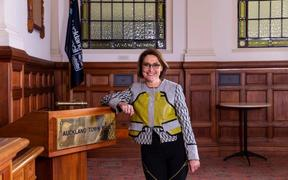 Auckland Council's Manager of Democracy Services, Marguerite Delbet.