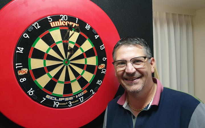 Gary Anderson will be competing on Friday.