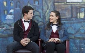 A scene from '13 Reasons Why'.