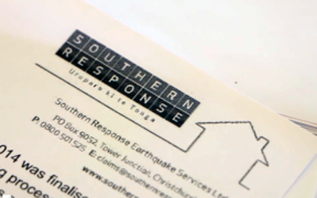 Southern Response letterhead on a document.