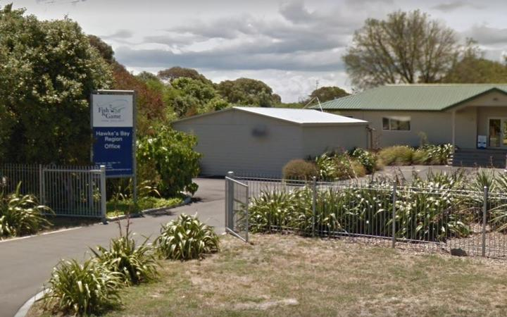 The Hawke's Bay Fish & Game office.