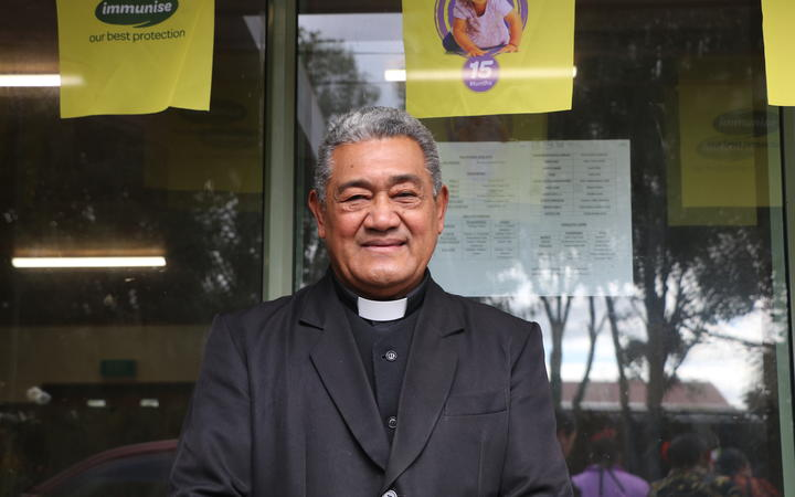 Tongan church elder Reverend Ifalame Teisi