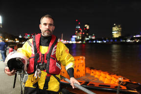 Dr Xand Van Tulleken joins the RNLI for a night shift on the River Thames, finding out what it's really like on the front line of suicide prevention in the UK