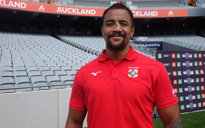 Tonga number eight Nasi Manu is hoping to be fit in time for the 'Ikale Tahi's opening World Cup game against England.