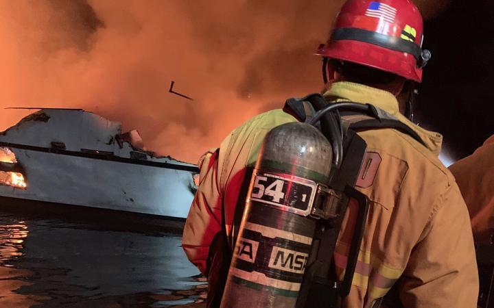 California boat fire: Bodies recovered, many people missing