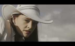 Still from Him's 'Suicide Town' video