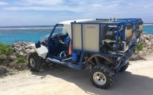 A GalMobile water purification donated to Papua New Guinea by Israel.