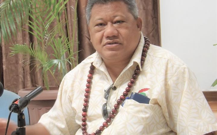 Director General of Health in Samoa Leausa Dr Take Naseri
