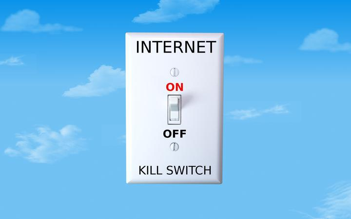 17034337 - concept image for an internet kill switch